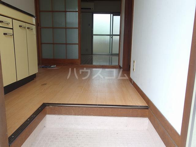 第二唐沢コーポ 201号室の玄関