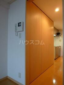グリーンバレー唐木田 606号室の収納