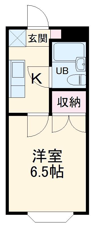 桜木ハイリビング弐番館・301号室の間取り