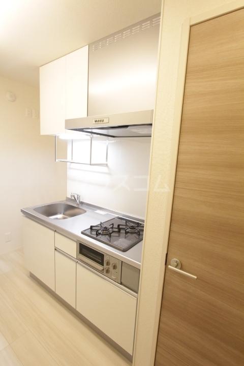 GRAND D-room豊田月見 102号室のキッチン