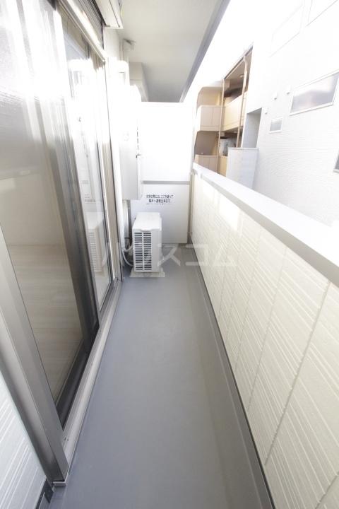 GRAND D-room豊田月見 205号室のバルコニー
