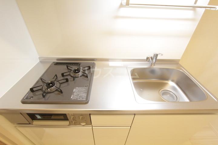 GRAND D-room豊田月見 205号室のキッチン