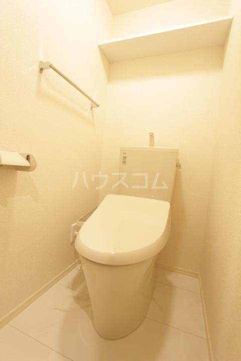 GRAND D-room豊田月見 205号室のトイレ