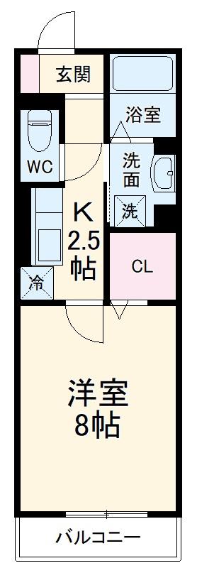 GRAND D-room豊田月見 302号室の間取り