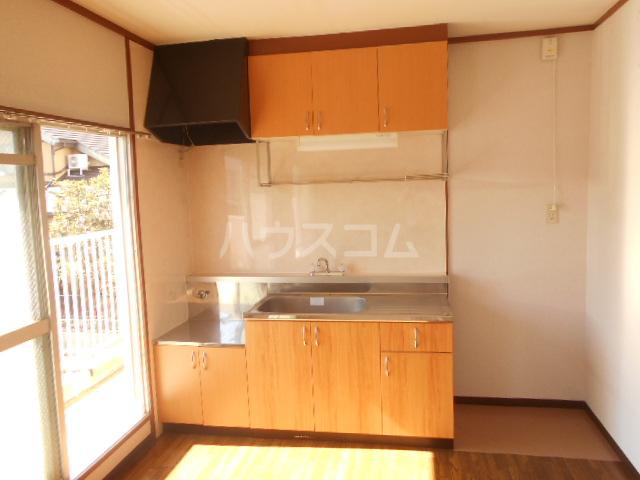 コーポ鳥山 302号室のキッチン