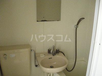 シティハウスナガサキ 206号室の洗面所