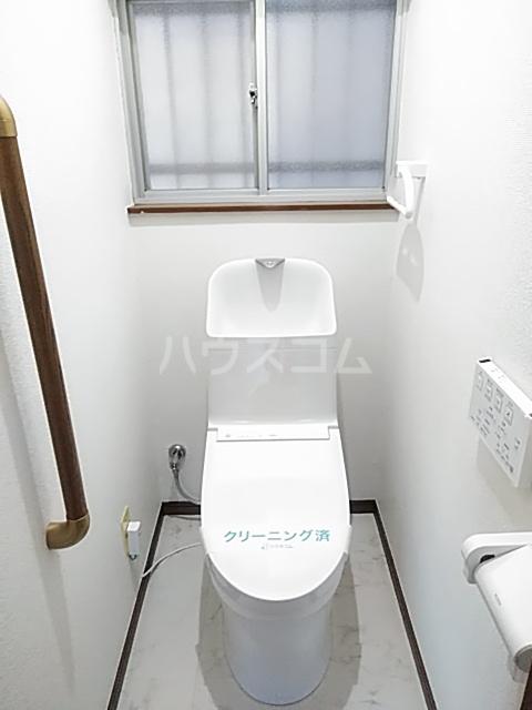 南大谷戸建のトイレ