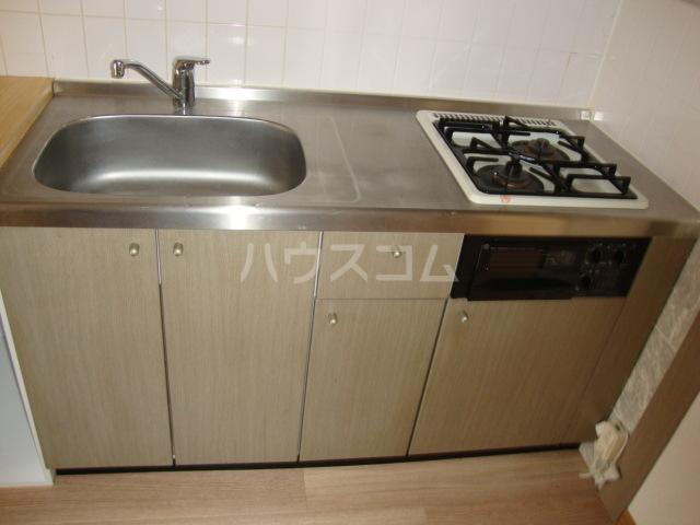 カームf本郷 102号室のキッチン