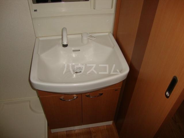 メゾンつばくろⅡ 102号室の洗面所