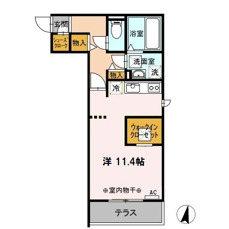 Coto・gran(コート・グラン)・303号室の間取り