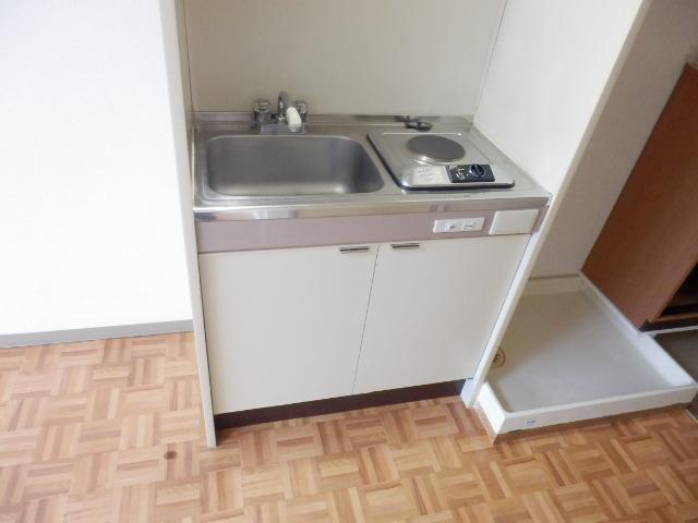 ハイツトーカンドー 405号室のキッチン