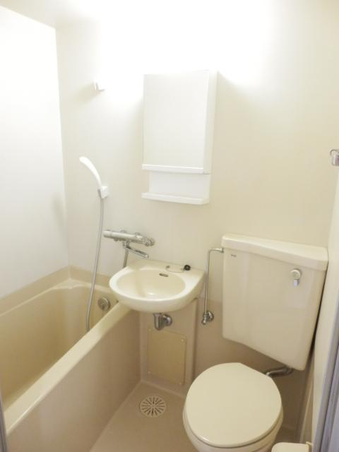 ハイツトーカンドー 405号室の風呂
