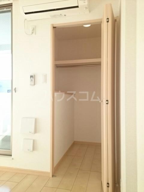 トレス中田 04020号室の収納