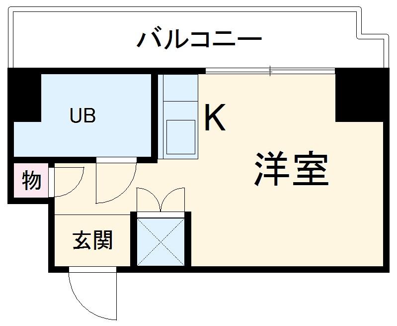 TOP川崎第3 1007号室の間取り