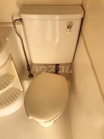 TOP川崎第3 1007号室のトイレ