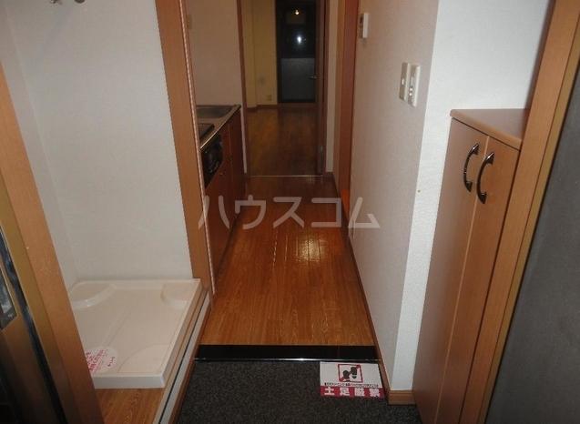 ラフィネス鶴見 208号室の玄関