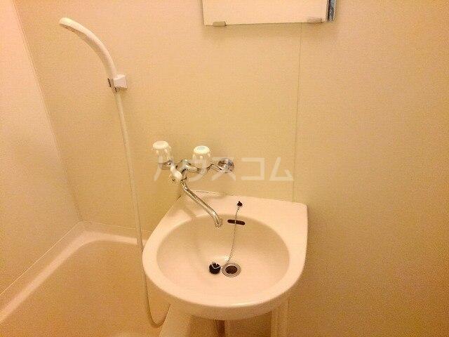 ヴィクトワール 01020号室の洗面所