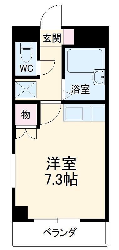 NAKANE MANSION (ナカネマンション)・205号室の間取り