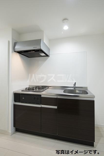 Rich hill SUWA 201号室のキッチン