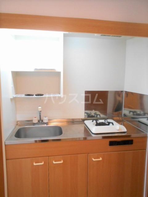 フォレスト平和 102号室のキッチン