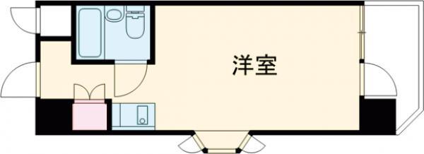 いづみニッテイハイツ北新宿・507号室の間取り