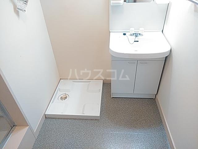 向原パークハイツ 113号室の洗面所