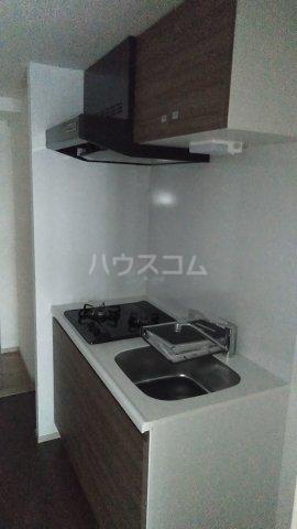 プレセダンヒルズ文京本駒込 205号室のキッチン