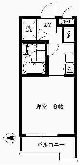 TOP高島平第3 102号室の間取り
