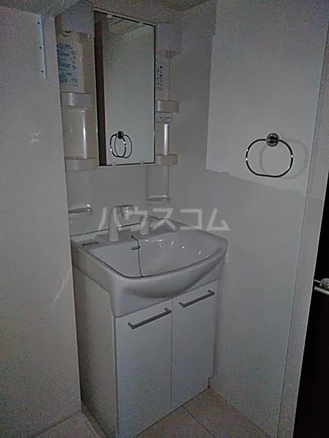 アルシオネ 305号室の洗面所