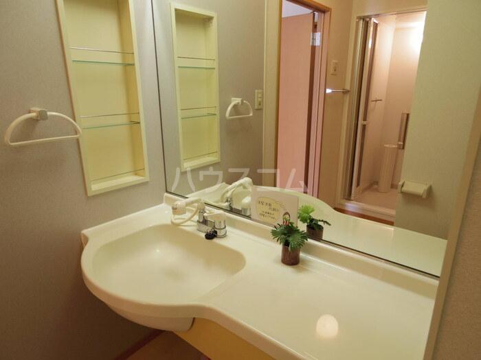 プレミール 201号室の洗面所