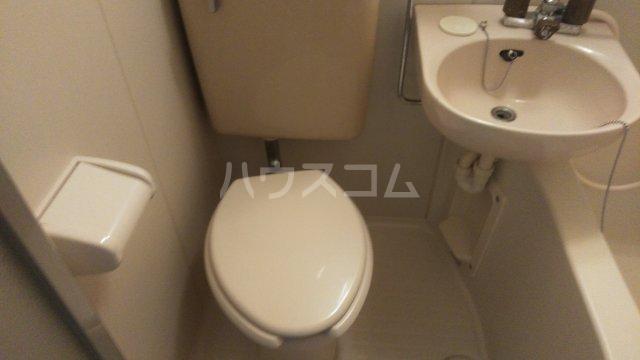 ミカサ富士見第一 103号室のトイレ