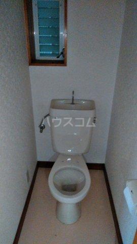 ハイツ秋元Ⅱ 205号室のトイレ