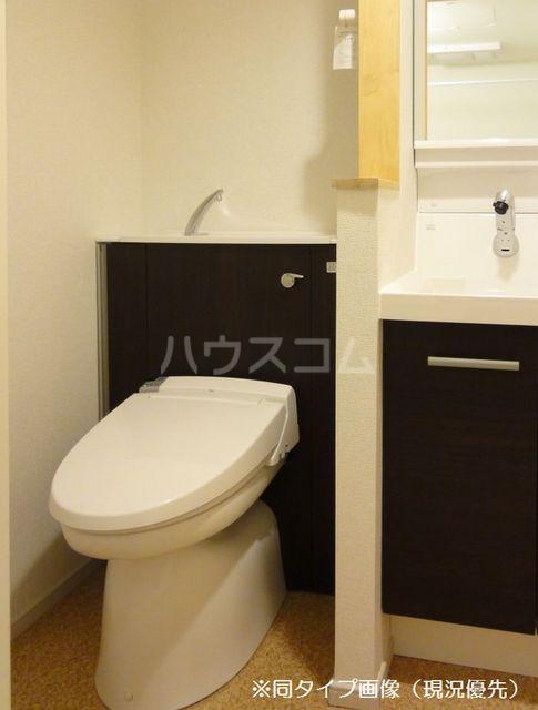 クオーレ メグ 02050号室のトイレ