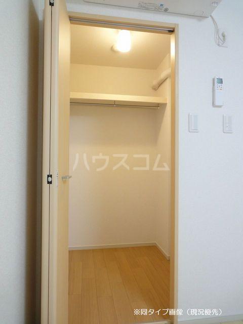 クオーレ メグ 02050号室の収納