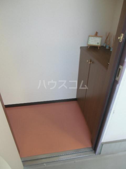 シアトル 303号室の玄関