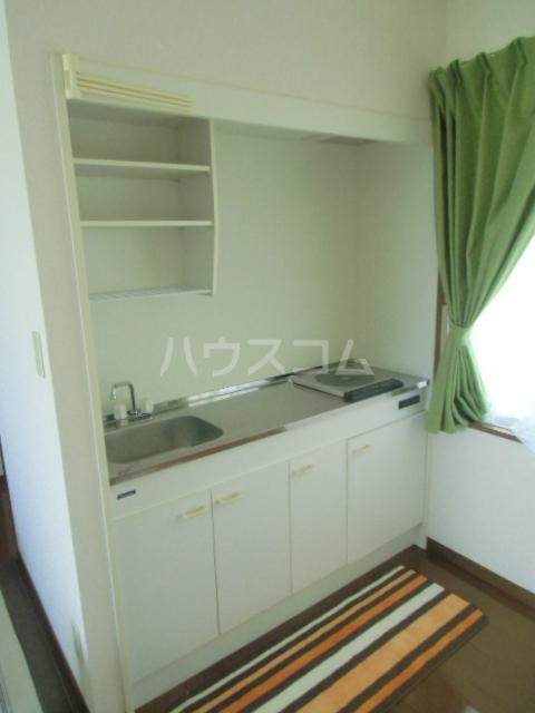 シアトル 303号室のキッチン