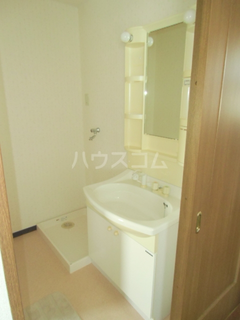 シアトル 303号室の洗面所