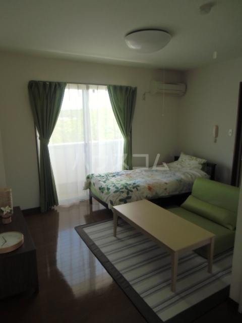 シアトル 303号室のベッドルーム