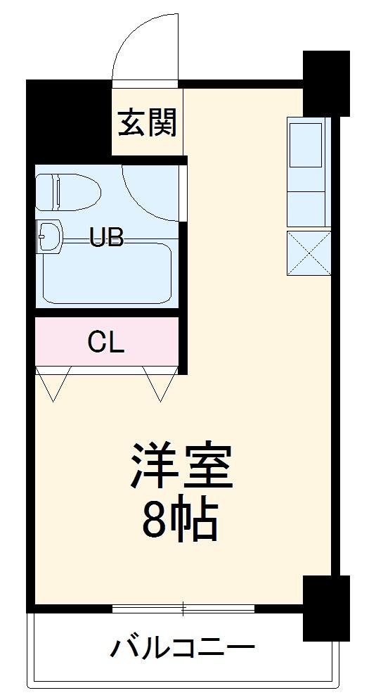 サンヴェルデ太田・208号室の間取り
