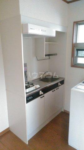 カーサ湘南B 202号室のキッチン