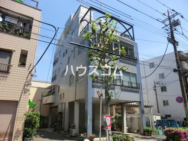 川島ビル 302号室のエントランス