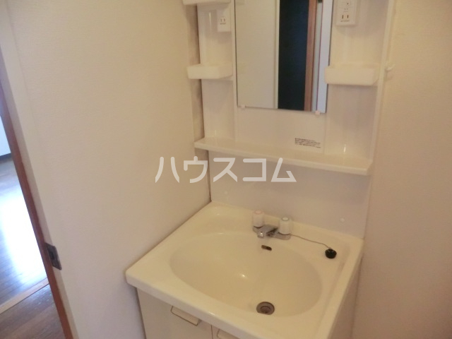 川島ビル 302号室の洗面所