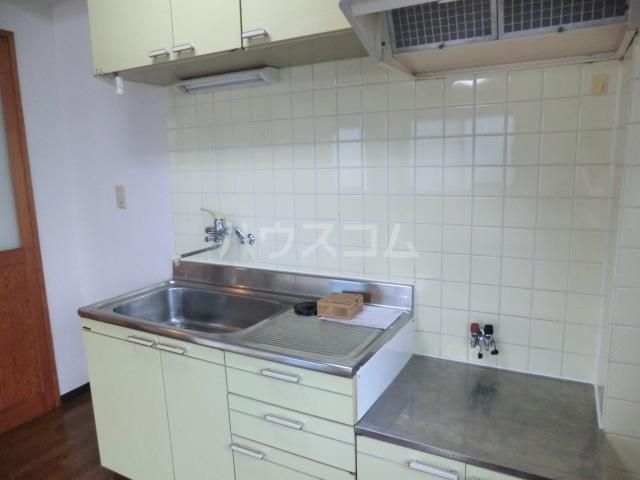 川島ビル 302号室のキッチン