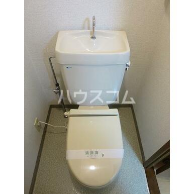 シティーホーム鷹の台♯4 303号室のトイレ