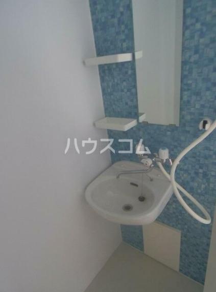 メゾン・ド・セニュール 110号室の洗面所