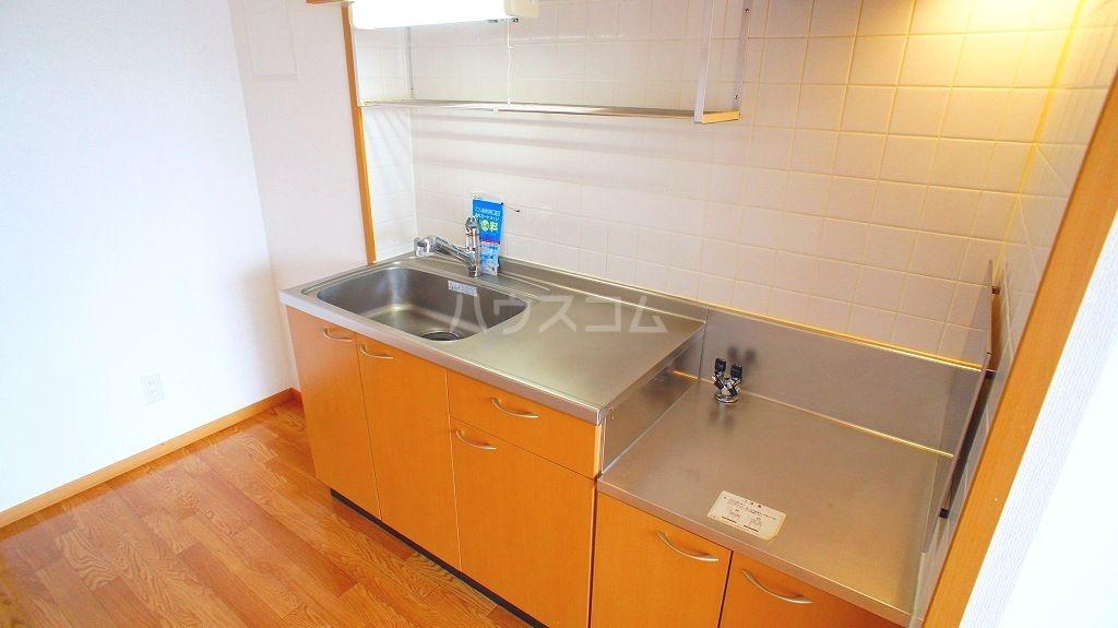 セレブリテ・メゾンA 02040号室のキッチン