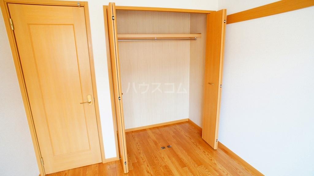 セレブリテ・メゾンA 02040号室の収納