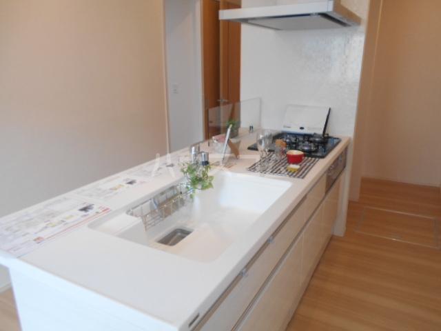 プラティーク安良田 205号室のキッチン
