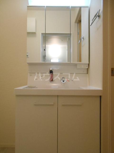 プラティーク安良田 205号室の洗面所