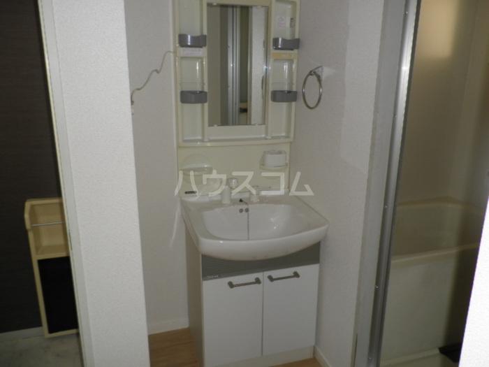 セジュール芝 C103号室の洗面所